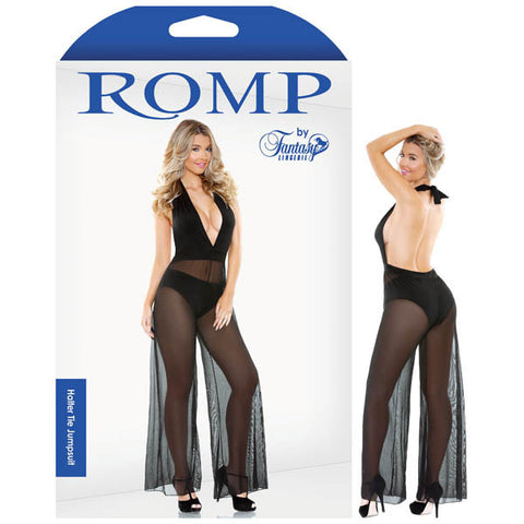 Picture of ROMP HALTER TIE JUMPSUIT