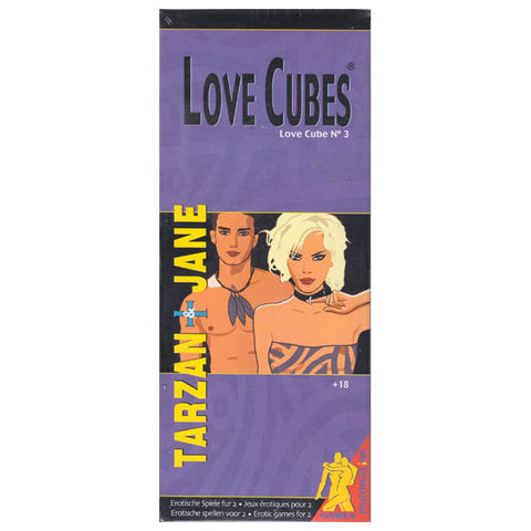 Picture of Love Cubes #3 - Tarzan & Jane