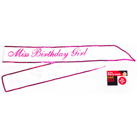 Picture of MISS BIRTHDAY GIRL SASH