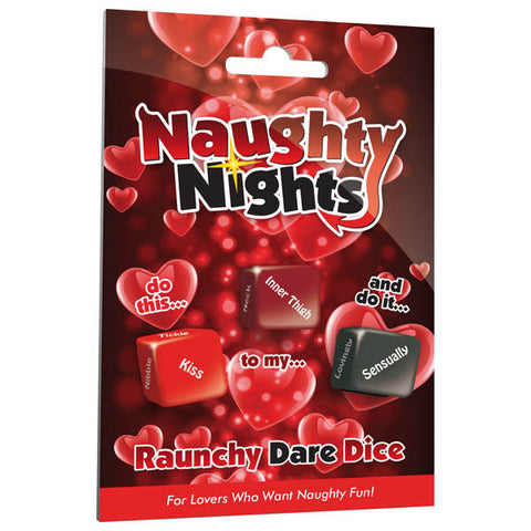 Picture of Naughty Nights Raunchy Dare Dice