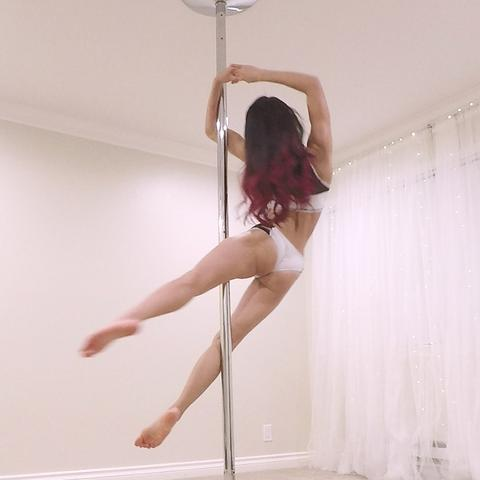 pole dancing at home