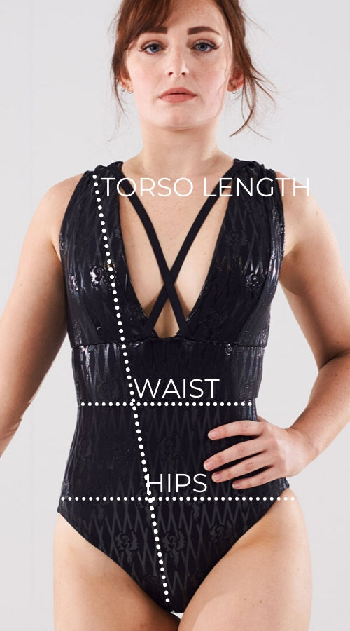 Sticky Bodysuit Measurement Guide