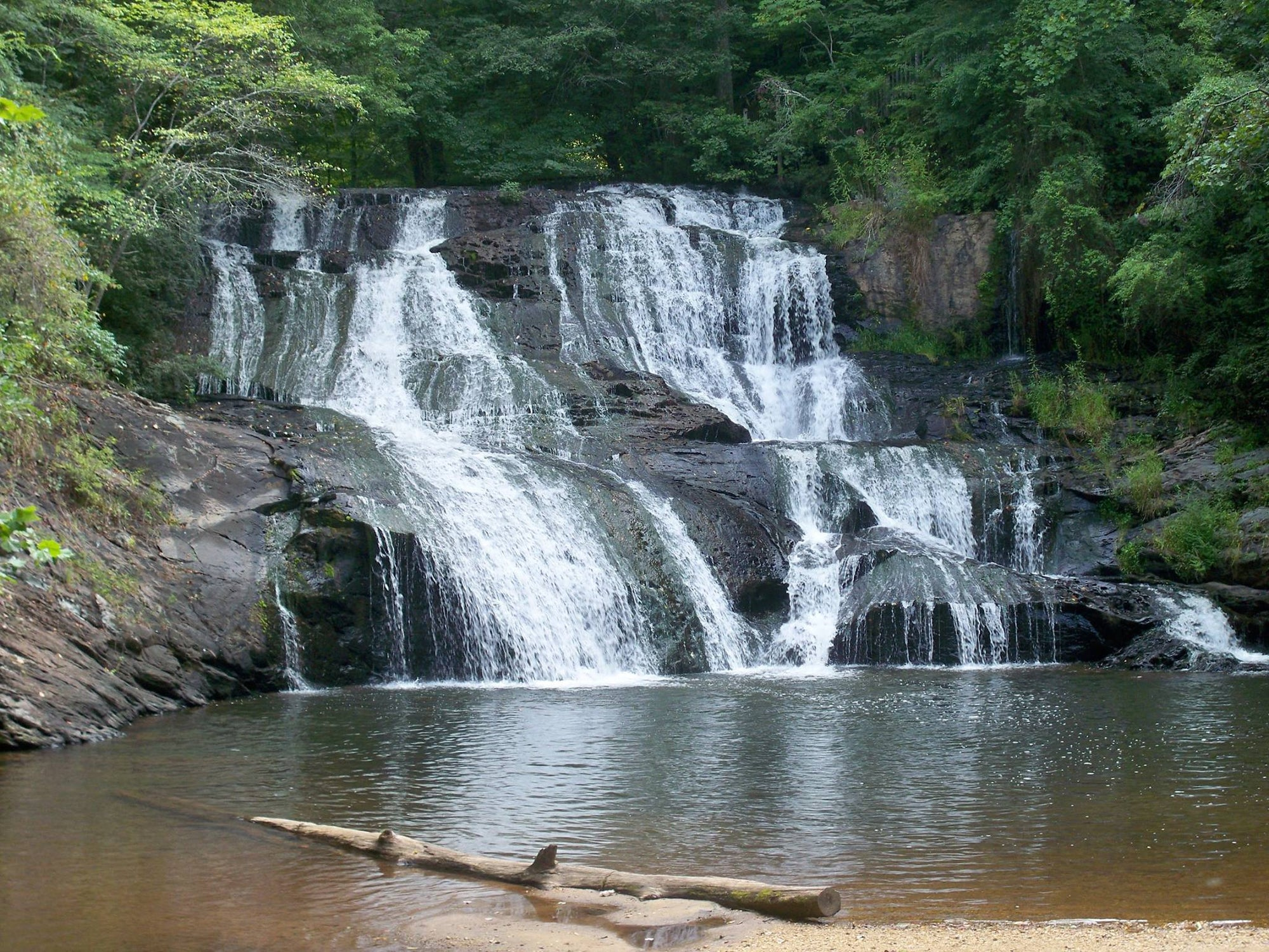 Cane Creek Falls. Dahlonega GA. Georgia Waterfalls.