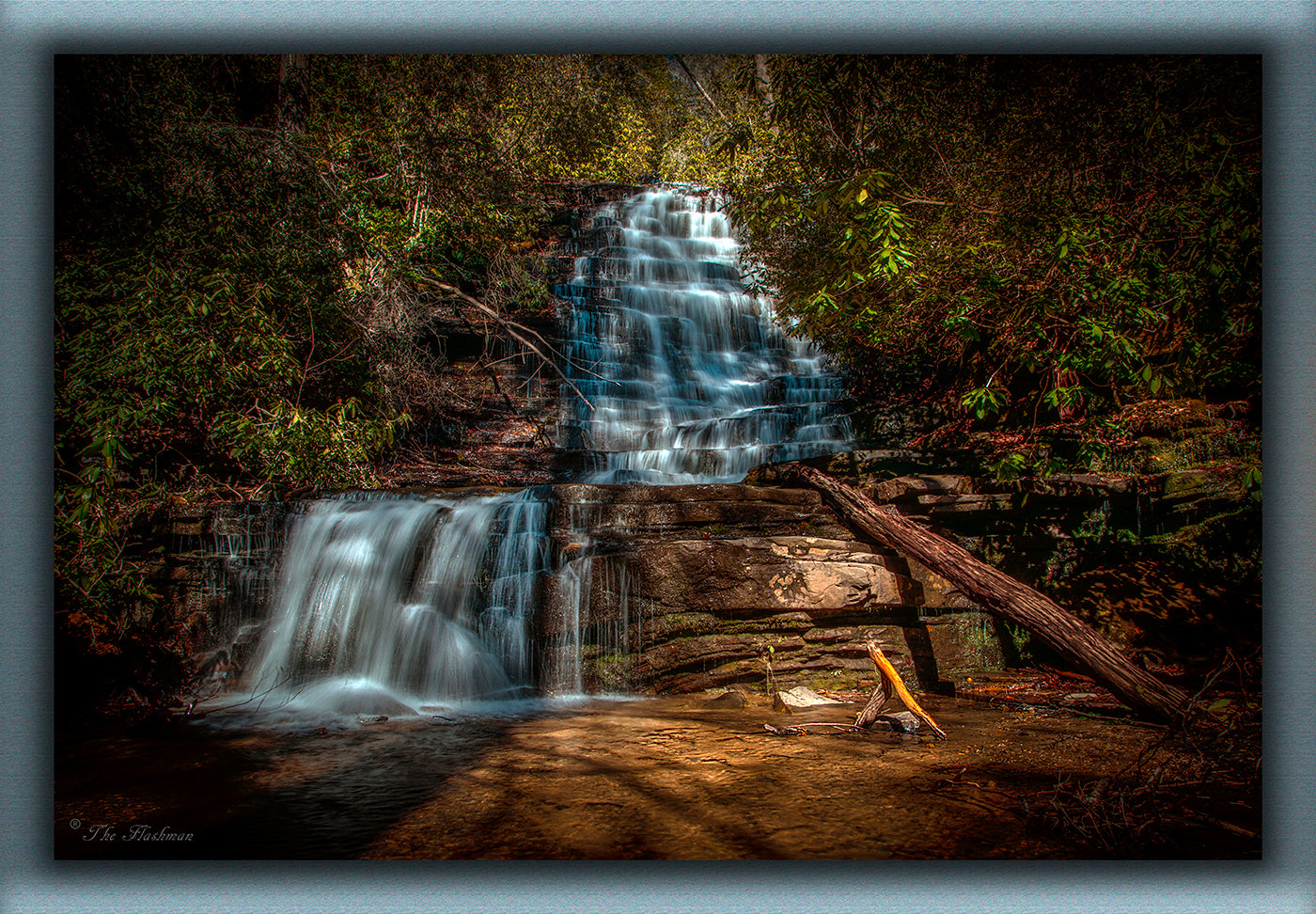 Angel Falls Angel Falls near lake Burton between Helen & Clayton, GA. Georgia Waterfall