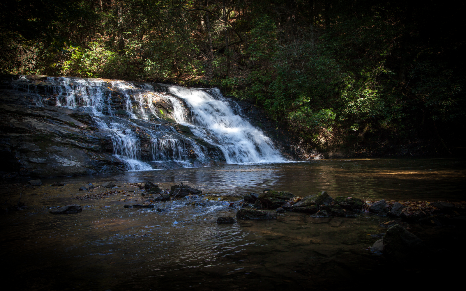 Black Falls of the Etowah Lower, Dahlonega GA