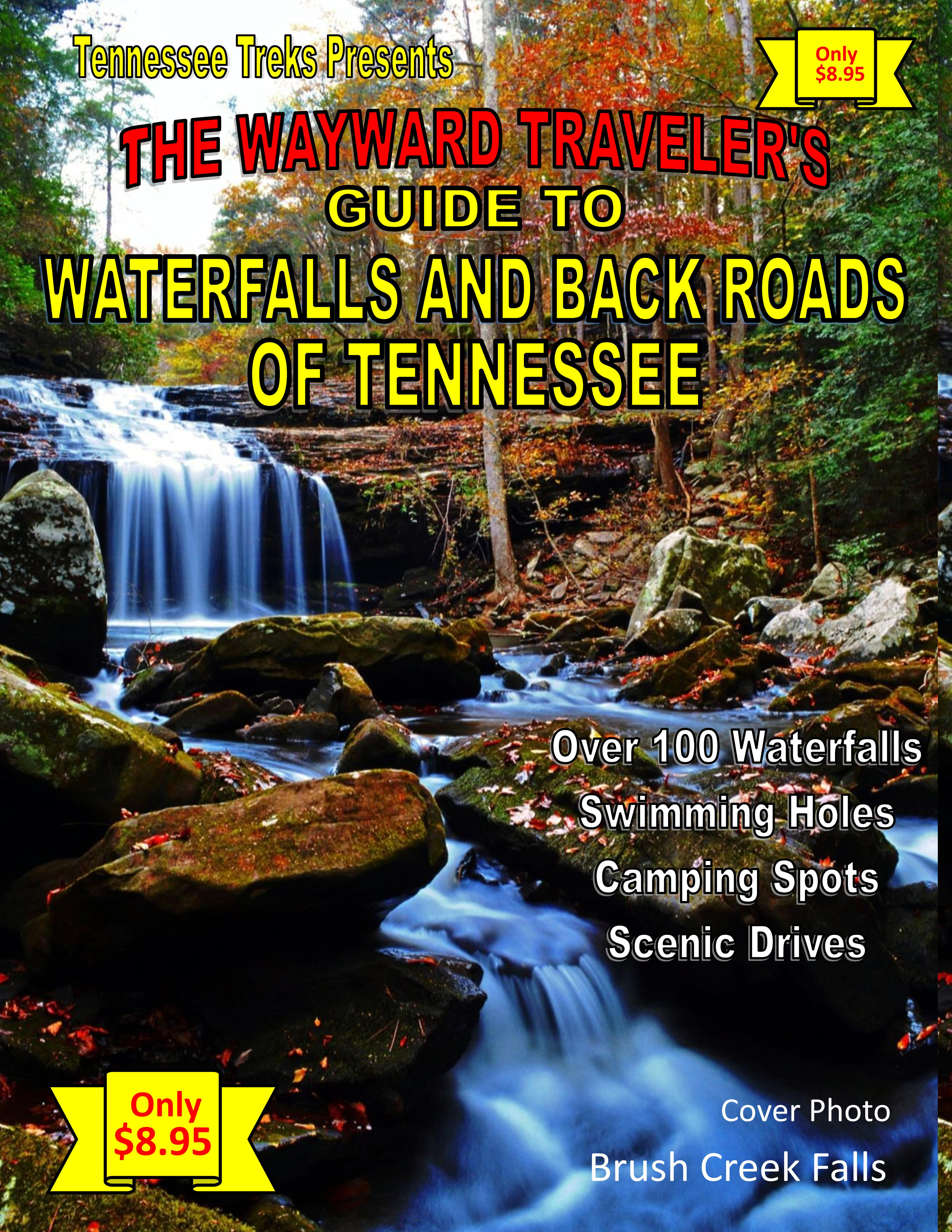 Tennessee waterfall guide.Tennessee hiking, Tennessee waterfalls.