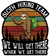 Sloth Hiking Team Magnet