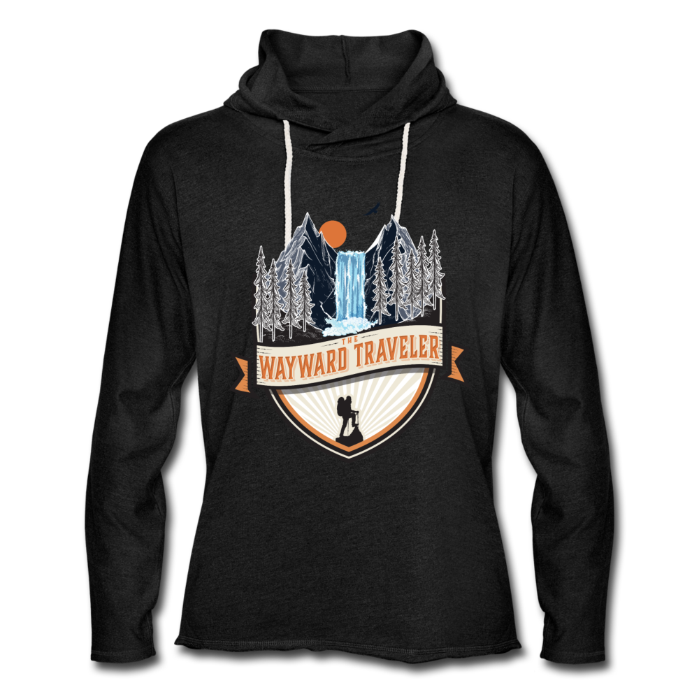The Official Wayward Traveler Unisex Lightweight Hoodie - charcoal gray