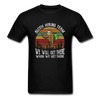 Sloth Hiking Team Unisex T-Shirt - black