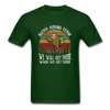 Sloth Hiking Team Unisex T-Shirt - forest green