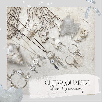 Clear Quartz for January