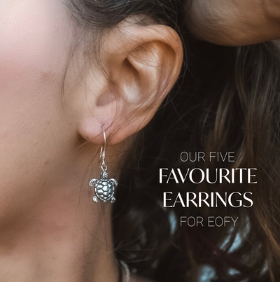 5 Favourite Silver Earrings for EOFY