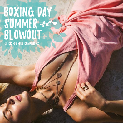 Boxing Day Summer Blowout