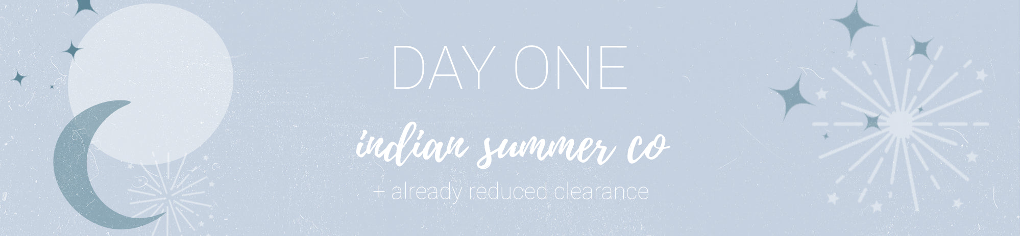 20% off Indian Summer Co + already reduced clearance Use Code: CHEER1