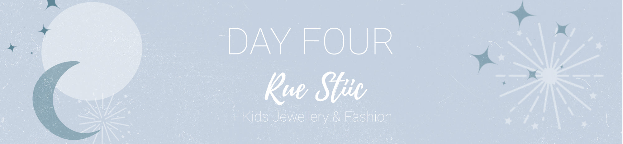 20% off Rue Stiic + Kids Jewellery & Clothing Use Code: CHEER4