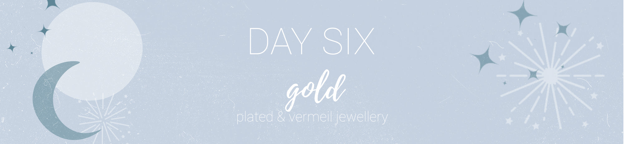 20% off all Gold Jewellery Use Code: CHEER6