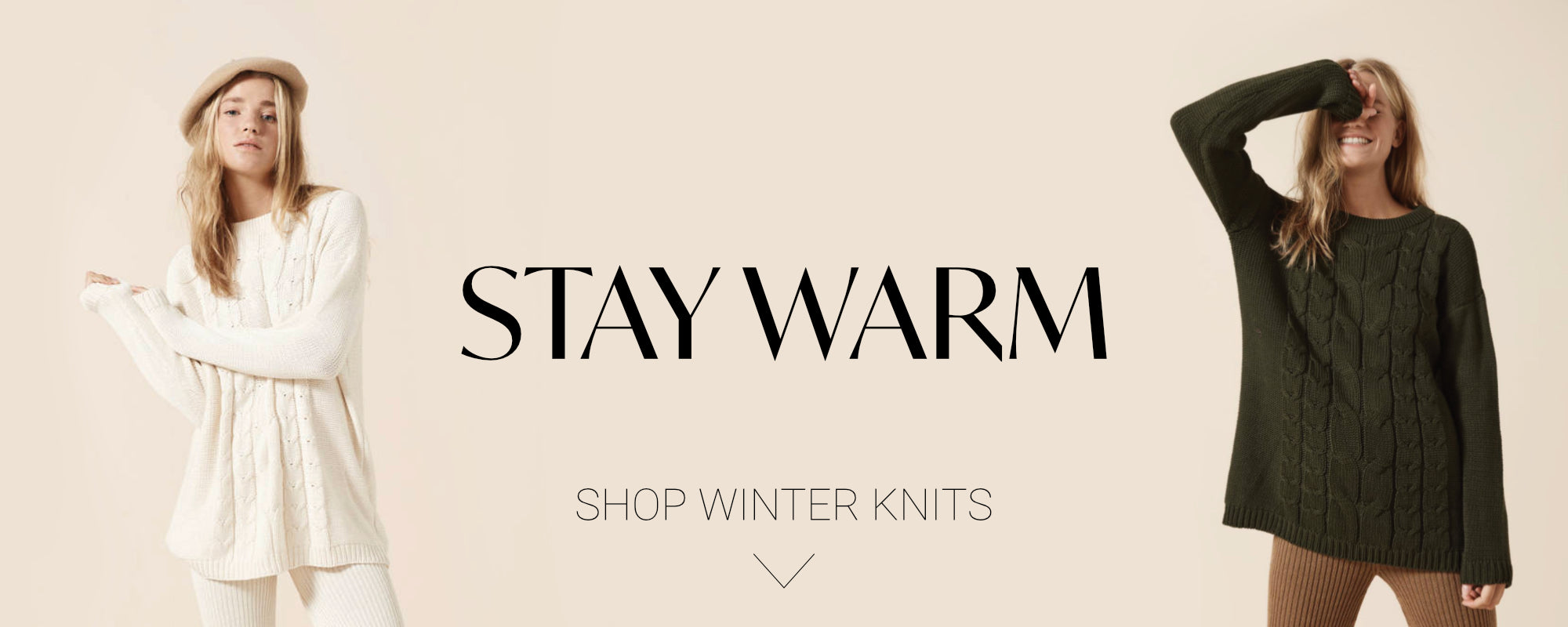 Stay Warm with Winter Knits