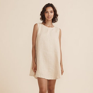 Classic Linen Shift Dress