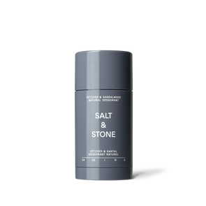 Salt and Stone Natural Deodorant -  vetiver & Sandalwood