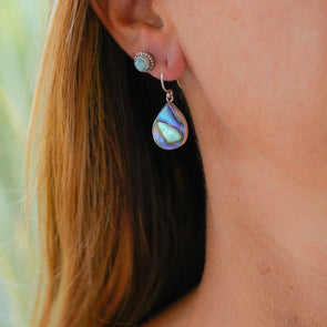 Paua Shell Drop - Small