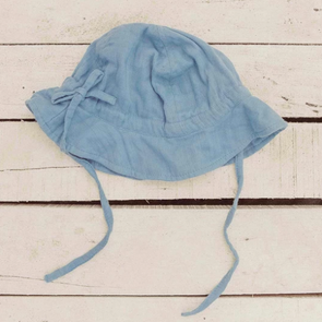 Pale Blue Sun Hat