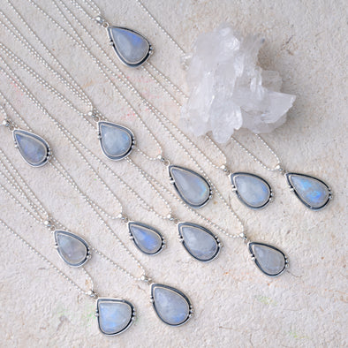 Moonstone Stone Pendant - Small