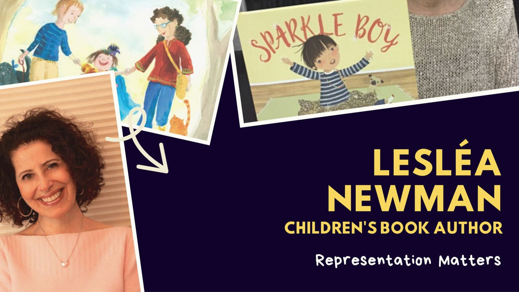 Representation Matters: Lesléa Newman, children's book author