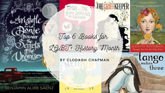 Top 6 Books for LGBT+ History Month