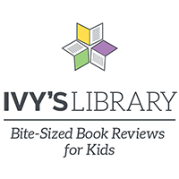 Ivy's Library Bite-Sized Book Reviews for Kids — logo