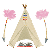 Two in a Teepee logo