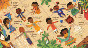 From diverse picture book I Am Brown by Ashok Banker