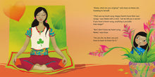 Load image into Gallery viewer, In a scene from Kaya's Heart Song a Malaysian girl watches her mother practice yoga