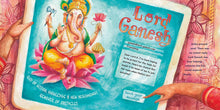 Load image into Gallery viewer, In a scene from Looking for Lord Ganesh, a girl sends an email to the elephant god Ganesh