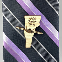 Vermont F-35 Lapel/Tie Pins front | ManganLabs Custom Creations