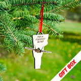 Vermont F-35 Ornament With Gift Box | ManganLabs Custom Creations