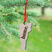 "Vermont ""home."" Ornament 