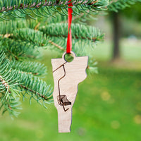 Vermont Single Chair Ornament Cover Image | ManganLabs Custom Creations