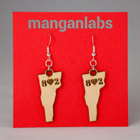 Vermont 8♥2 Earrings cover photo | ManganLabs Custom Creations