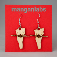 Vermont F-35 Earrings cover image | ManganLabs Custom Creations