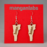 "Vermont ""home."" Earrings 
