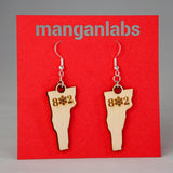 Vermont Snowflake Earrings | ManganLabs