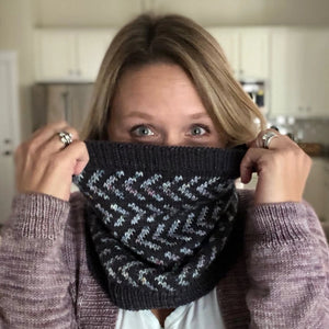 Every Which Way Cowl PDF- Knitting Pattern