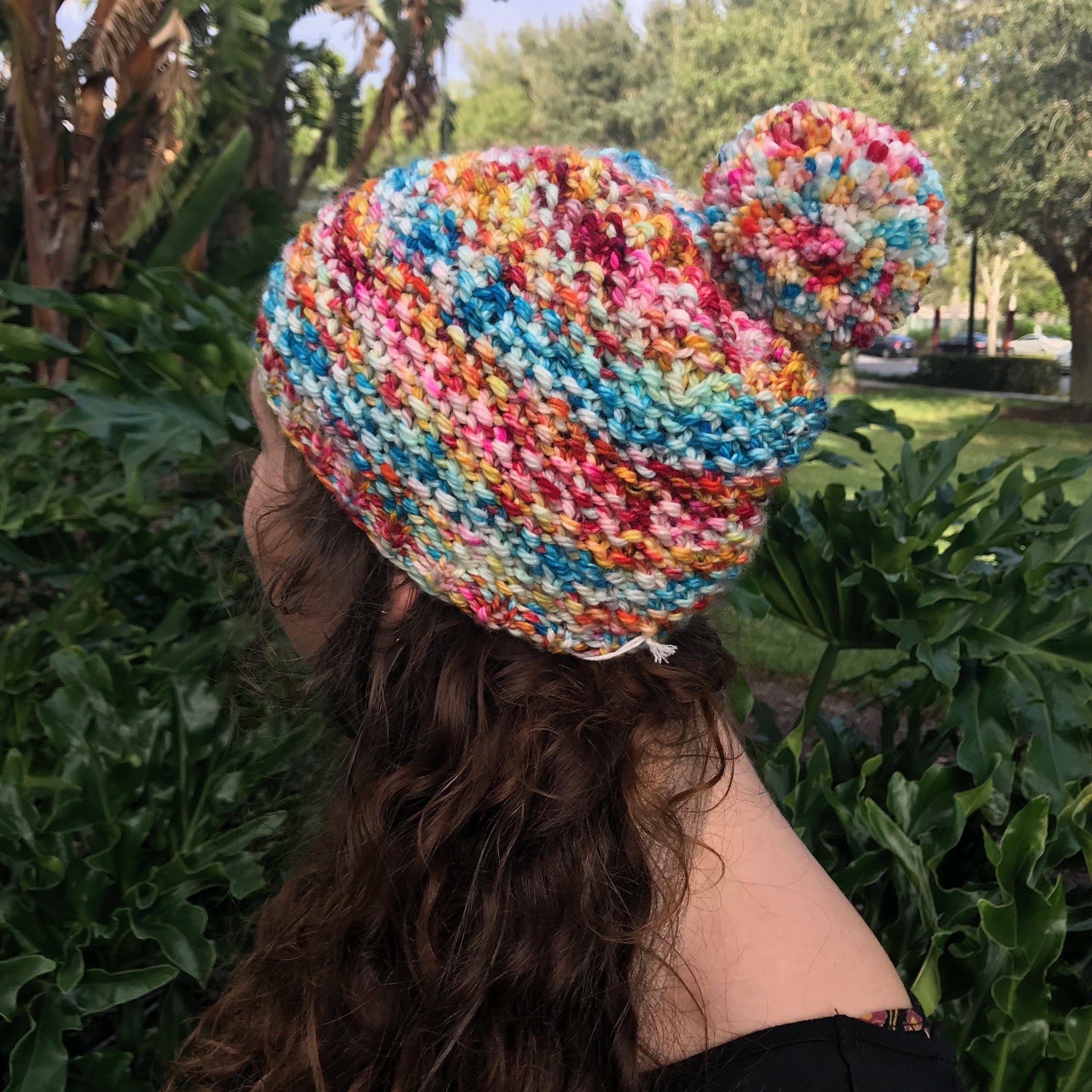 French Toasty Hat PDF- Knitting Pattern