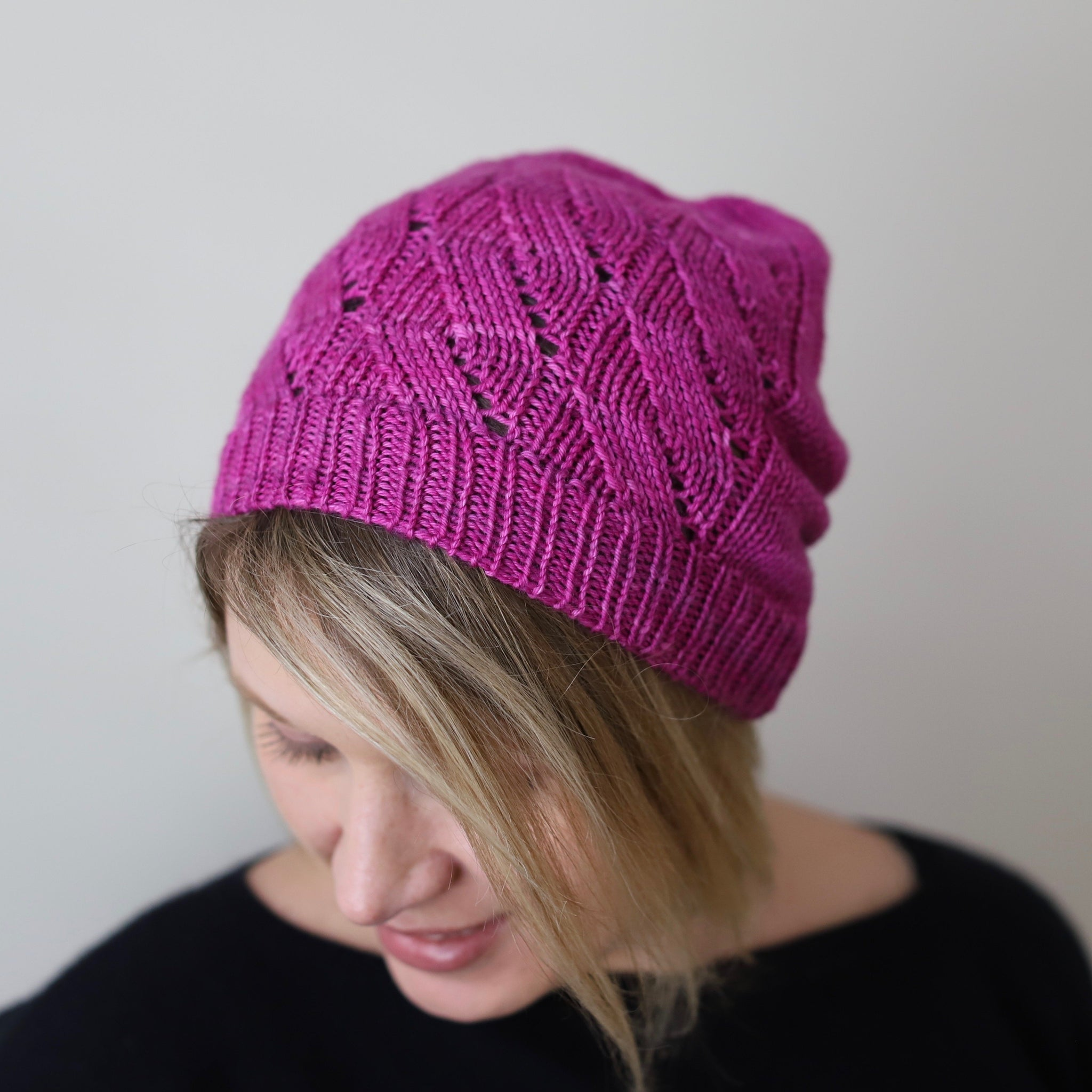 Impress Hat PDF- Knitting Pattern