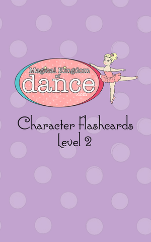 Level 2 Character Flashcards