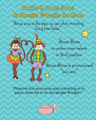 Boogie Woogie Boo Boo & Suzie Q Sous Sous - Poster