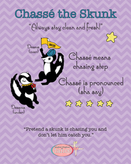 Chassé the Skunk - Poster