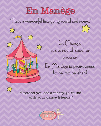 En Menage the Merry Go Round  - Poster