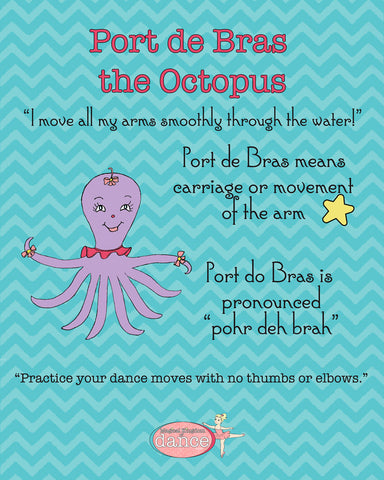Port de Bras the Octopus - Poster