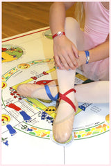 Righty Red and Lefty Blue Bracelets and Foot Wraps